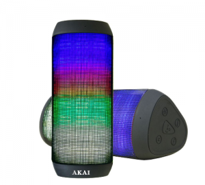 AKAI ABTS-900 ΦΟΡΗΤΟ ΗΧΕΙΟ BLUETOOTH ΜΕ LED ΚΑΙ NFC