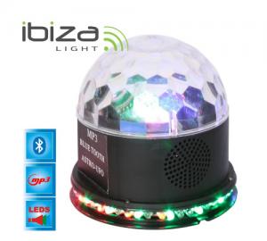 IBIZA UFO-ASTRO-BT-BK ΦΩΤΙΣΤΙΚΟ LED ΜΕ BLUETOOTH