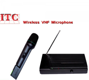 ITC XS-MP-1 ΑΣΥΡΜΑΤΟ ΜΙΚΡΟΦΩΝΟ VHF