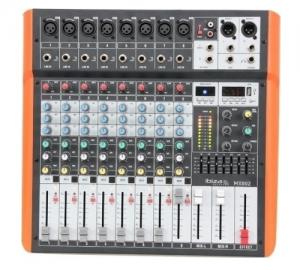 IBIZA MX802 ΜΕΙΚΤΗΣ 8 ΚΑΝΑΛΙΩΝ USB-BT