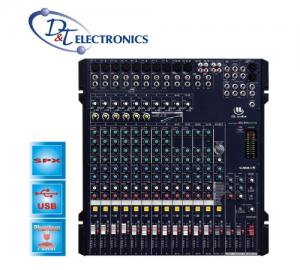 MESKE HL-MG166CX-USB ΜΙΚΤΗΣ ΜΙΚΡΟΦΩΝΩΝ