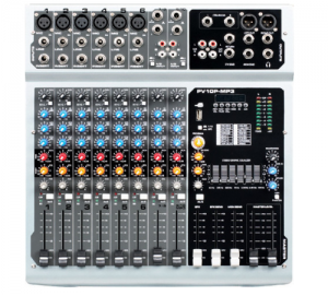 HL-AUDIO PV10P-MP3 ΚΟΝΣΟΛΑ ΑΥΤΟΕΝΙΣΧΥΟΜΕΝΗ  2 x 250W RMS.