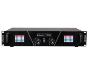IBIZA AMP300-MATRIX PA AMPLIFIER WITH LED MATRIX DISPLAY
