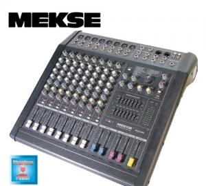 MESKE RQ2308 ΑΥΤΟΕΝΙΣΧΥΟΜΕΝΗ ΚΟΝΣΟΛΑ. 280W RMS και Phantom Power.