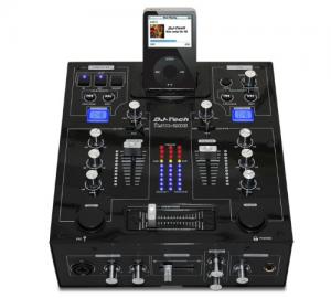 DJ TECH IMIX-200 ΜΙΚΤΗΣ TWIN IPOD