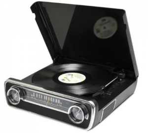 Ion Mustang LP Πικάπ με ράδιο,usb,aux