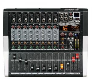 AXD Sound.TE800.Αυτοενισχυόμενος μικροφωνικός μίκτης 8 καναλιών.2X250W.