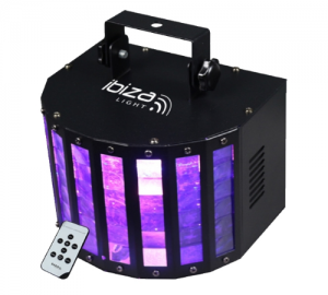 Ibiza BUTTERFLY-RC φωτιστικό με 6 led
