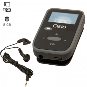 Osio SRM-7880BG MP3 player με κλιπ 8 GB