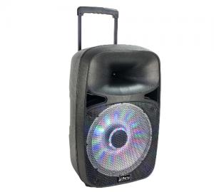 PARTY-SP500.Φορητό Ηχοσύστημα με USB, BLUETOOTH & VHF MIC 12''/30CM - 500W.