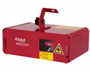 Ibiza 200R κόκκινο φωτιστικό λέιζερ 200mw