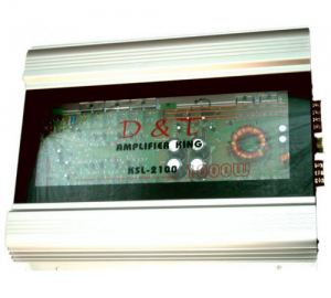 OEM D.T.KSL-2100 2X180W RMS ενισχυτής αυτοκινήτου