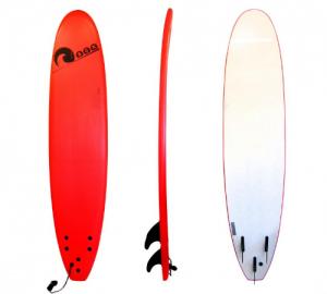 Σανίδα surf Soft-board 8ft Κόκκινη SCK