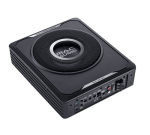 Mac Audio Micro Cube 108D.Subwoofer Ενεργο 8'' slim.