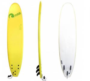 Σανίδα surf Soft-board 8ft Kίτρινη SCK
