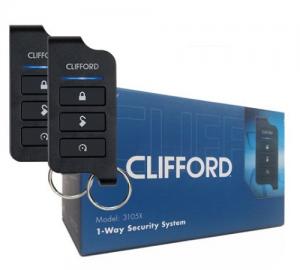Clifford 3105X Συναγερμός Αυτοκινήτου 1-Way