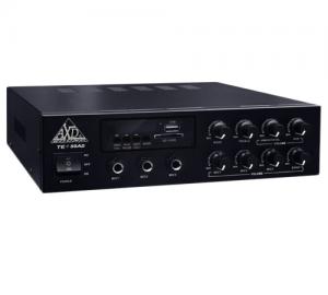 AXD SOUND.TE-50AD  Ενισχυτής PA με λειτουργία 12V DC και 220V AC