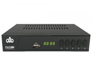 DM-1630 Ψηφιακός Δέκτης MPEG4 Με Tuner DVB-T2 Και Υποστήριξη WiFi USB Dongle Για Σύνδεση Στο YouΤube