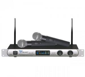 AZUSA SE-300 Ασυρματο σύστημα 2 Μικροφώνων.UHF.