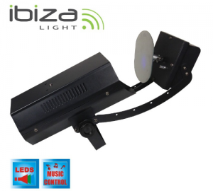 Ibiza Sound Moon LED Light Effect