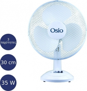 "Osio EFT-4010 Επιτραπέζιος ανεμιστήρας 30 cm (12"") 35 W"