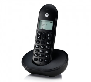 Motorola T101 Ασύρματο Τηλέφωνο (μαύρο)