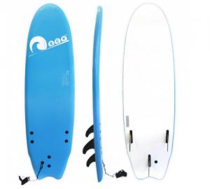 Σανίδα surf Soft-board 6ft Μπλε SCK