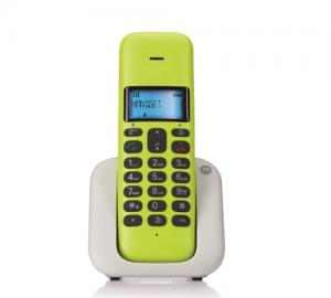 MOTOROLA T301 Ασυρματο Τηλεφωνο DECT[4 χρωματα]