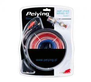 Peiying DM-0411.Σετ καλωδίων για ενισχυτή αυτ/του.
