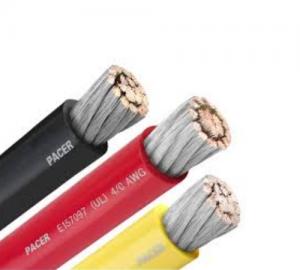 Καλώδιο PVC 4AWG Mαυρο η' Κοκκινο