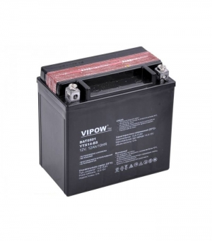 Motorcycle Battery VIPOW type MC 12V 12Ah.150X87X145mm