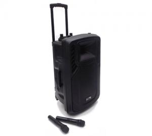 Elite  PS-15 φορητό ηχείο bluetooth με 2 ασύρματα μικρόφωνα