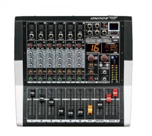 AXD Sound.TE600.Αυτοενισχυόμενος μικροφωνικός μίκτης 6 καναλιών.2X250W.