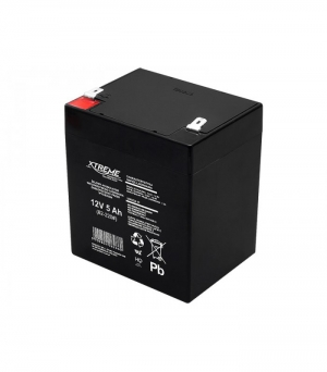 Lead-acid battery 12V 5Ah .107X90X69mm