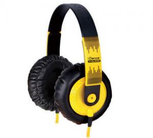 iDance SEDJ600 Ακουστικά κίτρινο