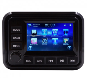 HASDA H-303A Radio USB Bluetooth με εγχρωμη οθονη 5''