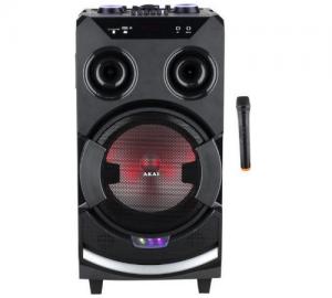 Akai ABTS-112 Φορητό Ηχείο Bluetooth Karaoke με Ράδιο/USB/SD και Μικρόφωνο