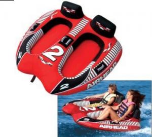 Kwik Tek AHVI-F2 Airhead Viper Towable Ski Tube 2-Rider