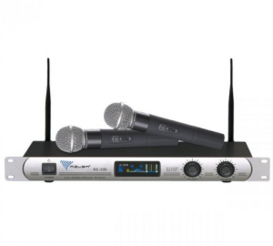 AZUSA SE-2022 Ασύρματο σύστημα 2 μικροφώνων UHF.