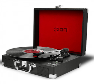 Ion Vinyl Motion Φορητό Πικάπ με βαλίτσα