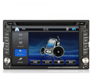 Digital IQ IQ-CR245GPS Οθόνη Multimedia Με DVD/USB/Bluetooth & GPS 6.2