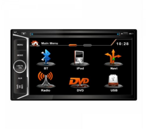 BizzarU-BL-UV01 Car Multimedia 2DIN N3.Bluetooth. Με GPS.