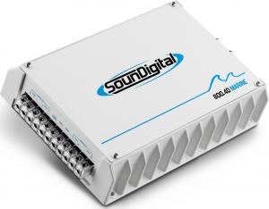 SounDigital SD-800.4D.Ενισχυτης 4x200w-RMS-1Ω