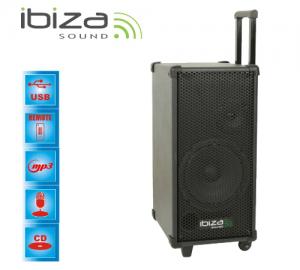 Ibiza PORT 8MINI φορητό σύστημα ήχου