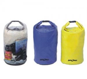 Τσάντα στεγανή 100% διάφανη - μπλέ - κίτρινη