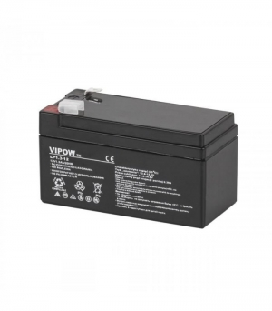 Lead-acid battery 12V 1.3Ah VIPOW. 97X43X53mm