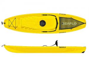 Seaflo SF1003 Yellow Puny μονοθέσιο καγιάκ με ενσωματωμένη ρόδα στην πρύμνη Κίτρινο