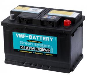 Μπαταρία VMF 12V 74AH 680A Ευρωπαικός τύπος ΔΕΞ VMF 57412