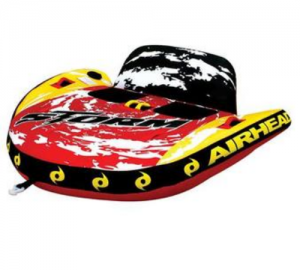 Kwik Tek Airhead Storm II Double Rider Inflatable Towable Tube AHST2