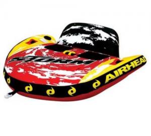 Kwik Tek Airhead Storm II Double Rider Inflatable Towable Tube AHST2